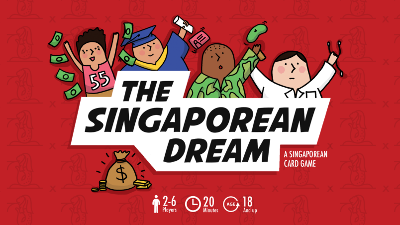 The Singaporean Dream card game