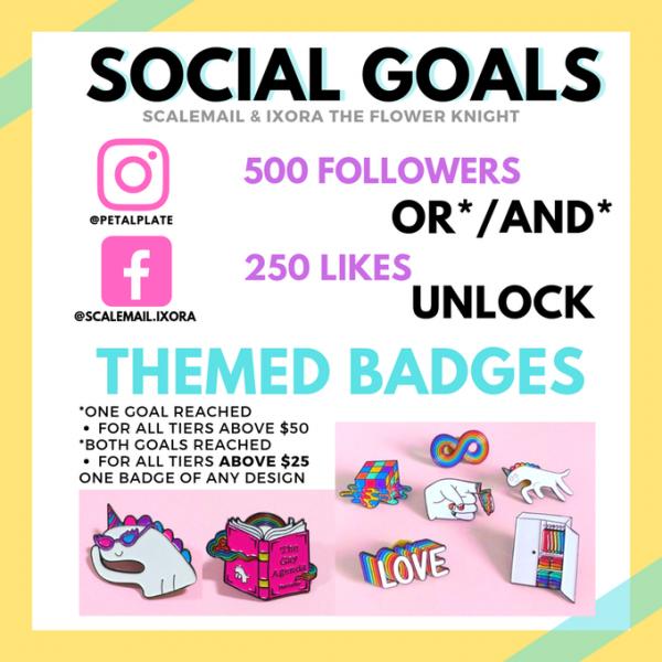 Scalemail & Ixora Social Goals