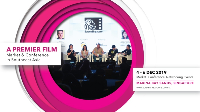 ScreenSingapore 2019 is Southeast Asia's marketplace for filmmakers,producers, distributors, financiers and film buyers