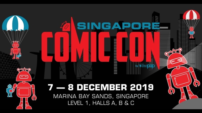 Singapore Comic Con (SGCC), previously known as Singapore Toy, Game & Comic Convention (STGCC). Content includes toys, collectibles, comics, cosplay and gaming