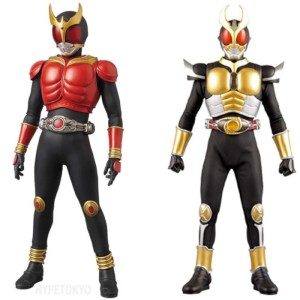 Kamen Riders Kuuga and Agito are partial inspirations for Sacred Guardian Singa