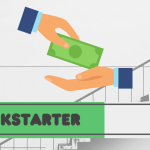 Kickstarter progress bar for the article, backing Kickstarter projects worry-free.