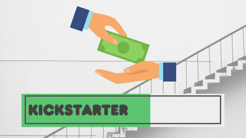 Kickstarter progress bar for the article, backing Kickstarter projects worry-free.