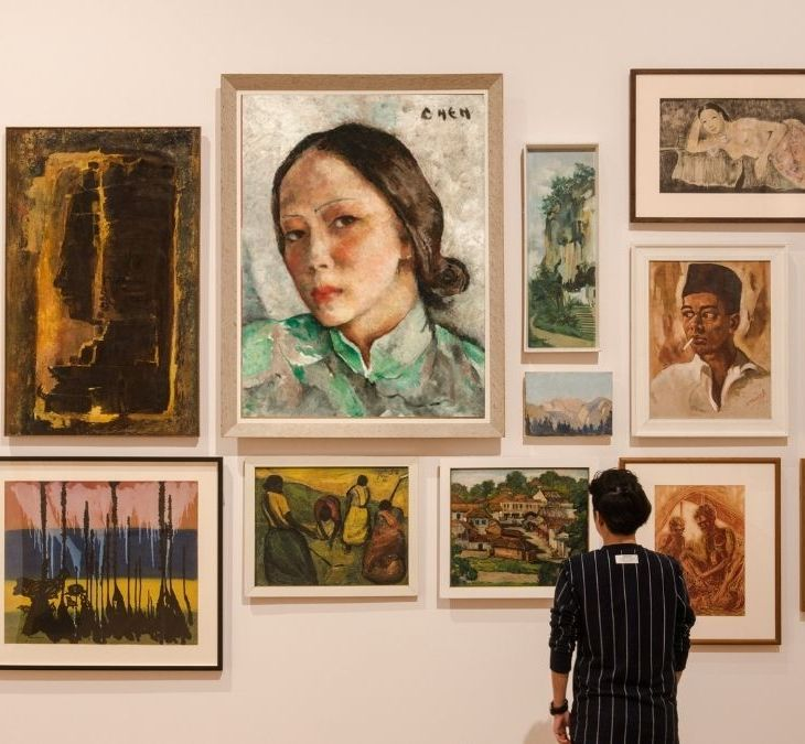 Georgette Chen, featured alongside other art at National Gallery Turns 5