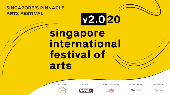 The promotional poster for Singapore International Festival of Arts in 2020.