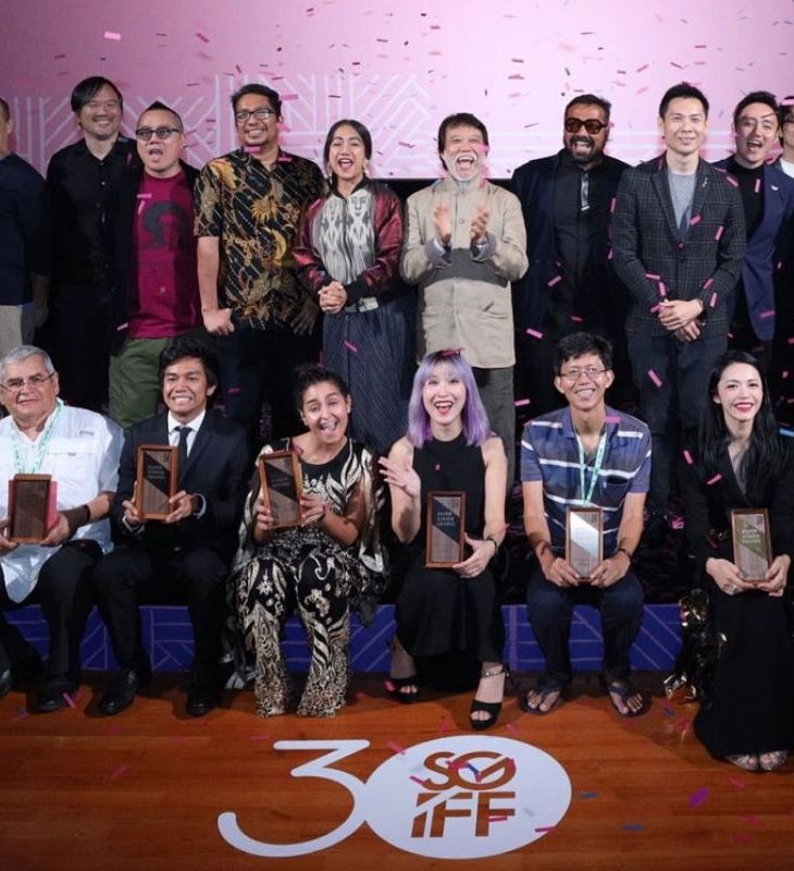Recipients of the 30th SGIFF.