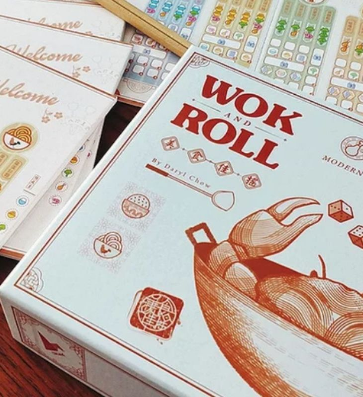 Wok and Roll game by Origame