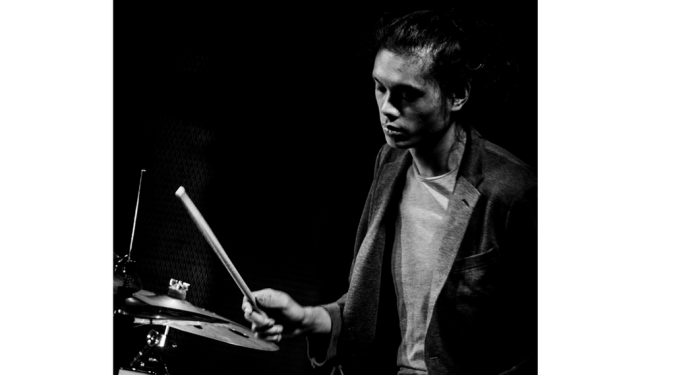 Singaporean drummer Aaron James Lee, who is well known in the local jazz scene.