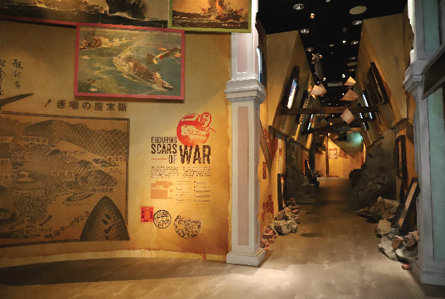 An look inside the permanent exhibitions at Singapore Discovery Centre.