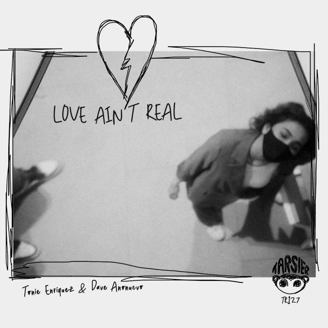 "A digital cover of the new electro-pop single from TonieEnriquezandDaveAnonuevo, ""love ain't real""."