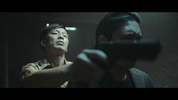 "A still from the NYFA's Film Facilitation Programme short film ""Henchmen"", directed by Alistair Quak."