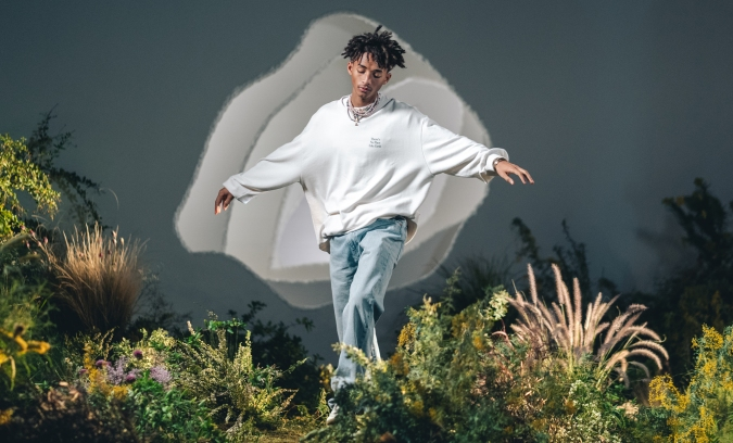 """Levis's sustainability campaign """"Buy Better, Wear Longer"""" features celebrity change makers like Jayden Smith."""