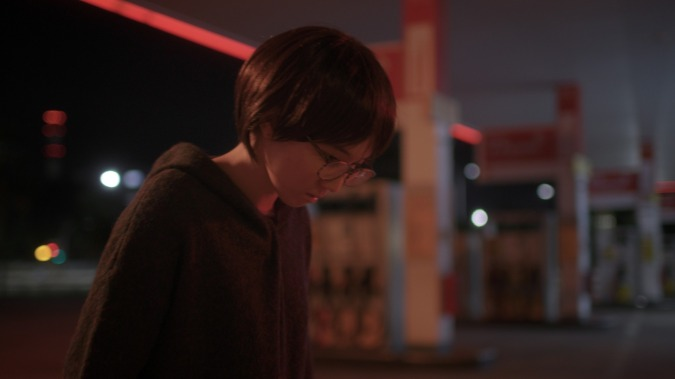 "A still from the NYFA's Film Facilitation Programme short film, ""Metadata"", directed by Grace Song."