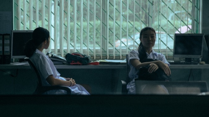 "A still from NYFA's Film Facilitation Programme short film ""Strawberry Cheesecake"", directed by Tan Siyou."