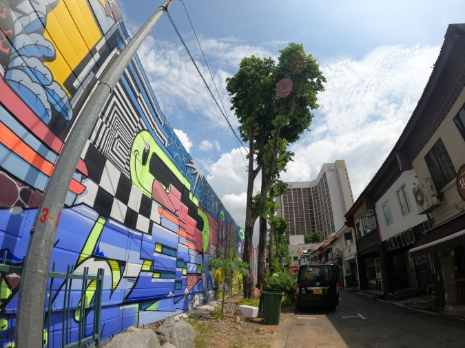 Walk The Line by Has.J which is featured at Hall of Fame @ Kampong Gelam.