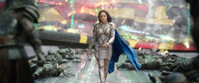 Valkyrie from Thor: Ragnarok is one of MCU's first queer representation and openly bisexual superheroes.